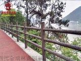 瀘州實木欄杆廠家,公園欄杆河道護欄定製廠家
