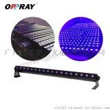 LED18顆3W 紫光洗牆燈室內染色效果燈