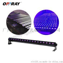 LED18颗3W 紫光洗墙灯室内染色效果灯