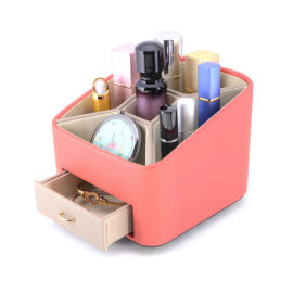 東莞化妝品收納盒皮盒廠家高端定制化妝品皮盒