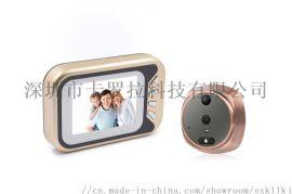 3.5寸自带照片存储功能电子猫眼