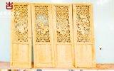 雲南實木雕花門窗廠家,可提供圖片定製各種門窗