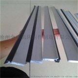 金乐厂家直供机床刮屑板 橡胶刮屑板 直线导轨刮屑板