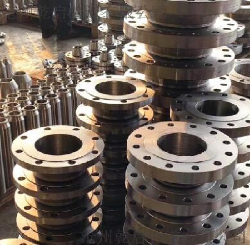 大连厂家现货供应 板式平焊法兰 锻制碳钢法兰