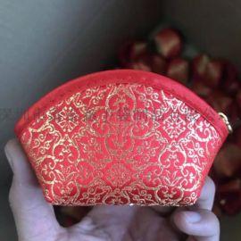 厂家专业生产红色绒布珠宝袋