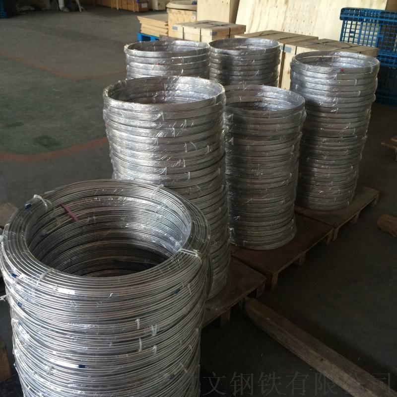 304 316L不鏽鋼無縫盤管 10x1