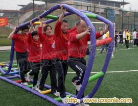 四川泸州趣味运动会器材金祥彩票国际展示开始了