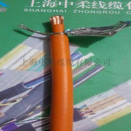 上海厂家生产汽车新能源EV25平方充电桩橙色电缆充电桩