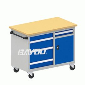 BAYOO工具手推車|櫸木工具車|車間工具車|車間工作臺|維修工具車