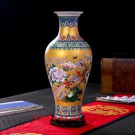景德镇定制陶瓷花瓶 高档花瓶工艺品