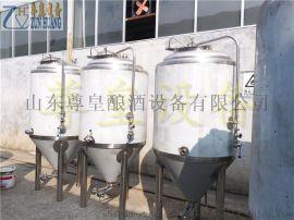 500L发酵罐、啤酒发酵罐、不锈钢发酵设备