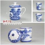 景德镇茶杯生产厂家 会议礼品茶杯 加字陶瓷杯子批发