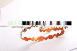 高品质双面板LED柔性软灯条 2835S型蛇形软灯带