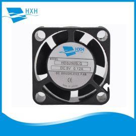 PBT塑胶散热风扇2510静音设计专注空气污染检测仪微型汽车灯液压
