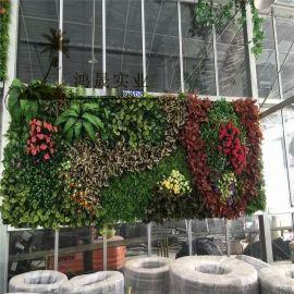 仿真植物墙厂家 绿植墙绿色景观植物 植物墙价格优势明显