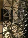 酒店大堂不锈钢黑金屏风