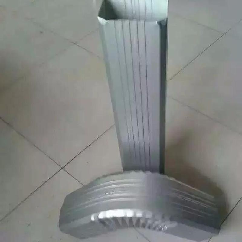 长春供应144*108型/95*133型彩钢落水管 彩钢雨水管 彩铝落水管 金属雨水管 方型落水管 矩形落水管 排水管