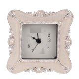 欧式家居创意钟表摆件座钟台钟表床头客厅书房无闹钟电子钟静音