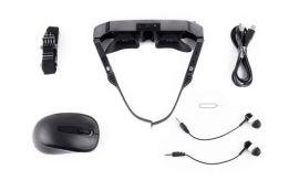 VR一体机眼镜3D虚拟现实眼镜头盔摄像蓝牙多功能智能拍摄眼镜无
