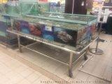 泓泰万家超市冰鲜台展示柜定做批发厂家直卖