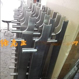 耀恒 304不锈钢工程栏杆 工程立柱 装饰立柱 按图加工