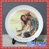 陶瓷纪念盘订做 手绘青花瓷盘 活动典礼纪念盘批发