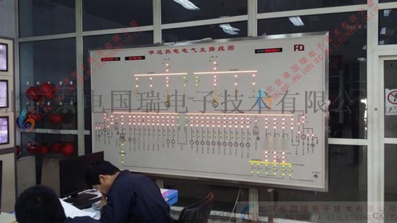 黑龙江马赛克模拟屏 厂家直销 防误操作模拟屏