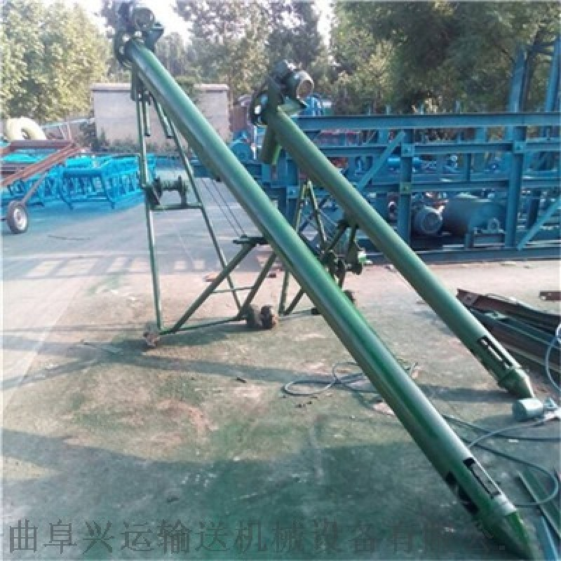 双螺旋输送机结构图大提升量 散装水泥螺旋绞龙提升机