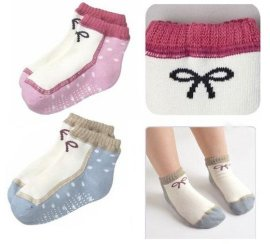 防滑底婴儿袜