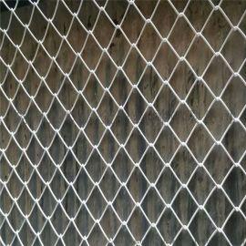 广西边坡锚网活络网 镀锌机编铁丝网勾花菱形网