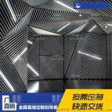 厂家直销室内天花吊顶背景墙铝圆管铝合金装饰材料