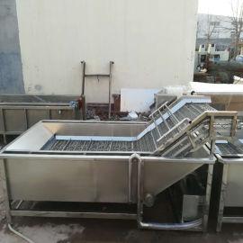 供应大型涡流洗菜机   厨房净菜配送涡流清洗机