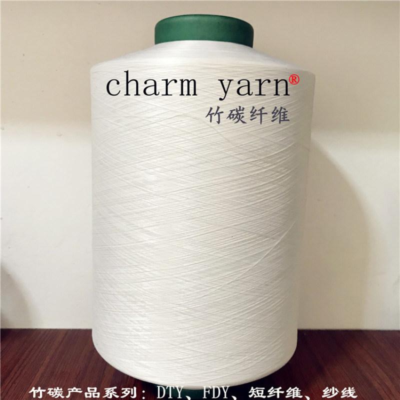 尼龍竹碳纖維、竹碳紗線、charm yarn、舫柯