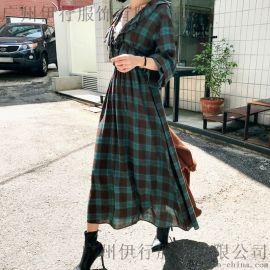 欧莎莉格女装折扣批发春美多服饰 冬季女装尾货批发多少钱 杭州四季服装尾货批发