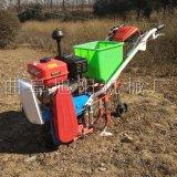 热销汽油链轨式耘播机播种追肥除草多用机