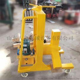 拔轮快150吨移动小车拉马 电动升降式液压拉马厂家