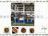 产量可达500公斤的宠物饲料膨化机  狗粮加工设备