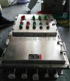 BXK不锈钢防爆控制箱户外带防雨罩