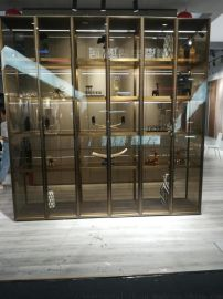 供应酒店会所酒柜不锈钢创意红酒架