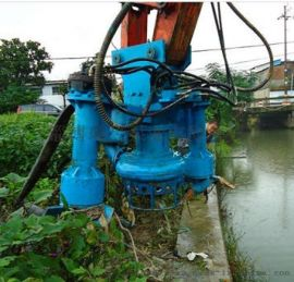 挖机清淤泵-清淤工程常用液压泥浆泵