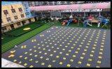 益陽市氣墊懸浮地板籃球場塑膠地板拼裝地板