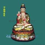 月光菩萨神像 月神神像 河南佛道家 树脂材质