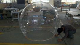 超大透明空心球大型工程透明有机玻璃户外防护整圆球罩