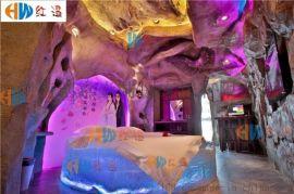 情趣床,主题酒店水床,轻奢精品宾馆床,创意寒冰床