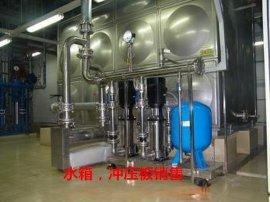 宜达牌120吨智能箱泵一体不锈钢组合水箱厂家
