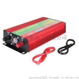 厂家直供红壳 1500W逆变器大容量车载家用升压器12v电源转换器