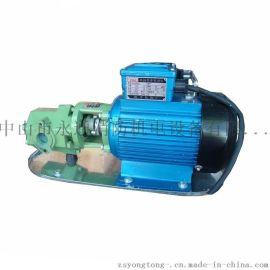 WCB30工业用电动油泵 单级齿轮油泵