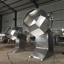 糖果八角拌料机  山东不锈钢八角拌料机生产厂家
