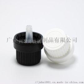 进口竖纹精油瓶盖子滴塞 进口大头盖 保险盖 安全盖
