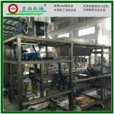 厂家直销 全自动酱油醋灌装机 立式液体负压三合一灌装生产设备